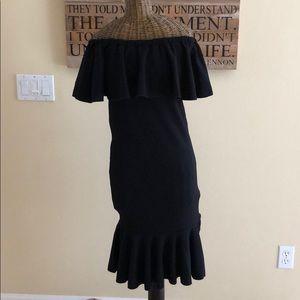 NWT Lularoe Black Cici Dress XXS